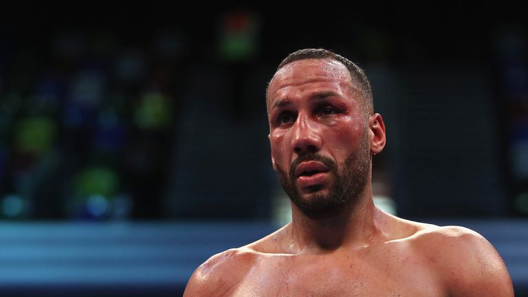 DeGale lost his IBF belt in an upset defeat against Caleb Truax