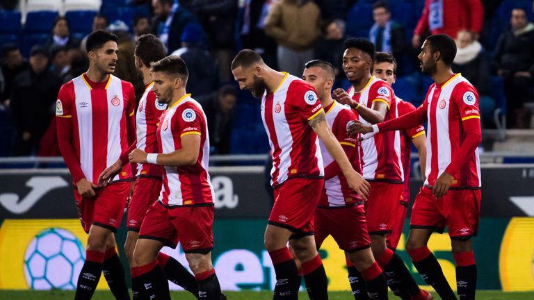 Girona registered an historic win against Las Palmas