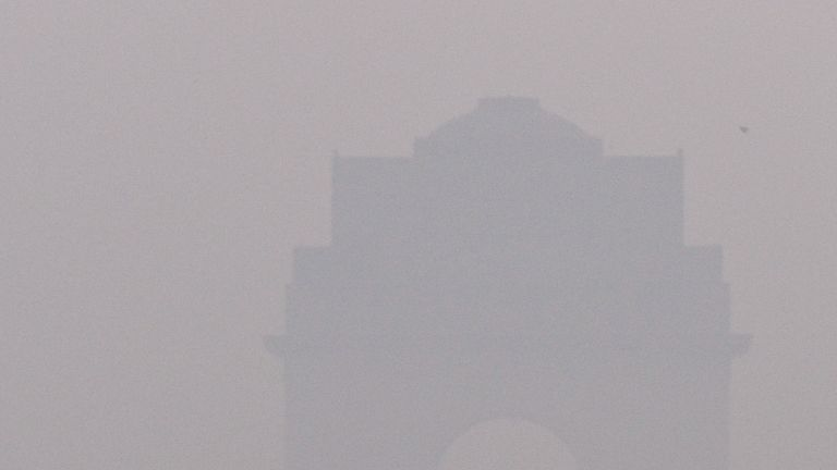 The 2016 Delhi half-marathon was blighted by smog
