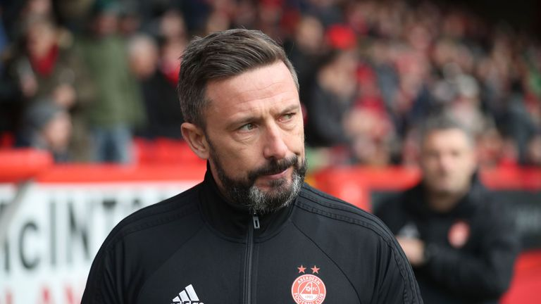 Derek McInnes opted to stay at Aberdeen