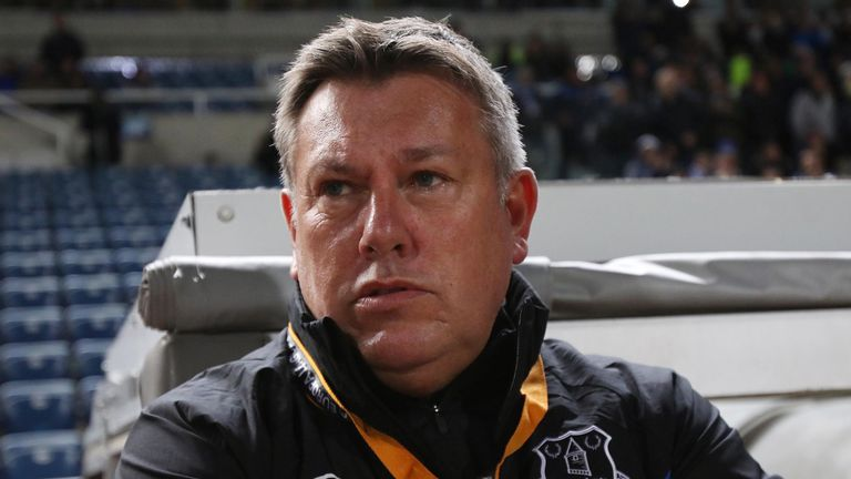 Everton's assistant coach Craig Shakespeare handed debuts to five players in Cyprus