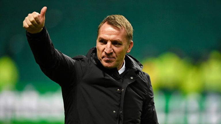 Morgan said Brendan Rodgers played a big factor in his move to Celtic