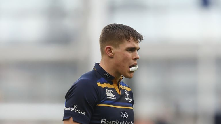 Leinster's Garry Ringrose has been battling an ankle injury