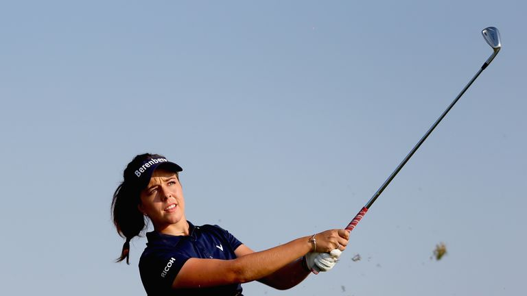 Kelsey MacDonald well placed after two rounds in Dubai