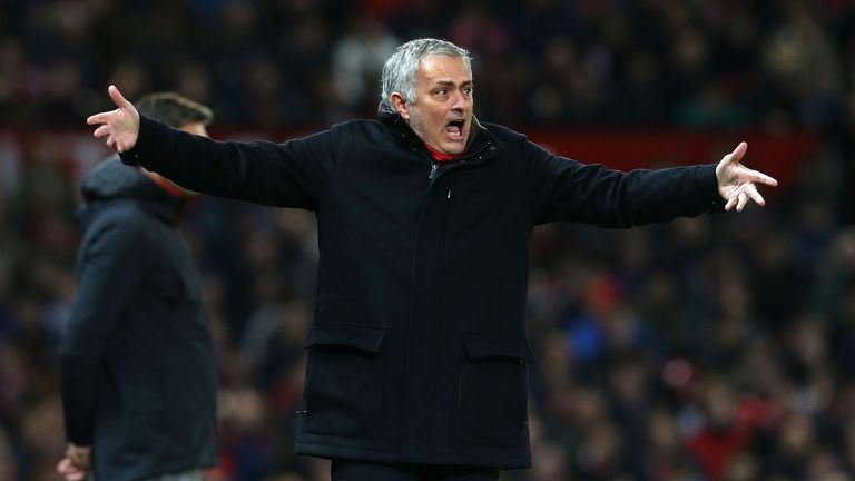Mourinho has generally toned down his touchline antics over recent seasons