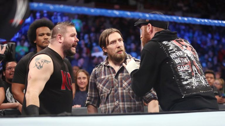 Zayn and Owens will be fired from WWE if they lose to Orton and Nakamura in Boston on December 17