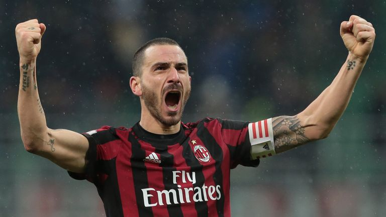 Leonardo Bonucci is a reported target for Man Utd manager Jose Mourinho