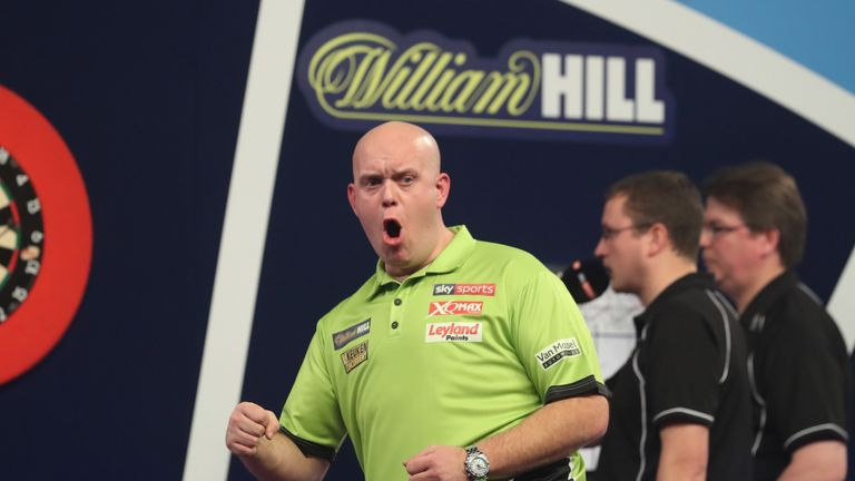 Rob Cross dumps Michael van Gerwen out of World Championship in thriller