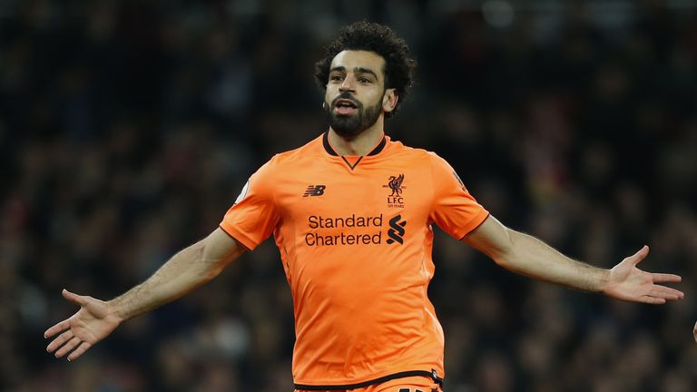Salah has scored 30 goals for Liverpool since his arrival from Serie A