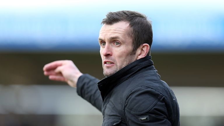 Nathan Jones' Luton Town remain locked in battle with Notts County at the top of League Two