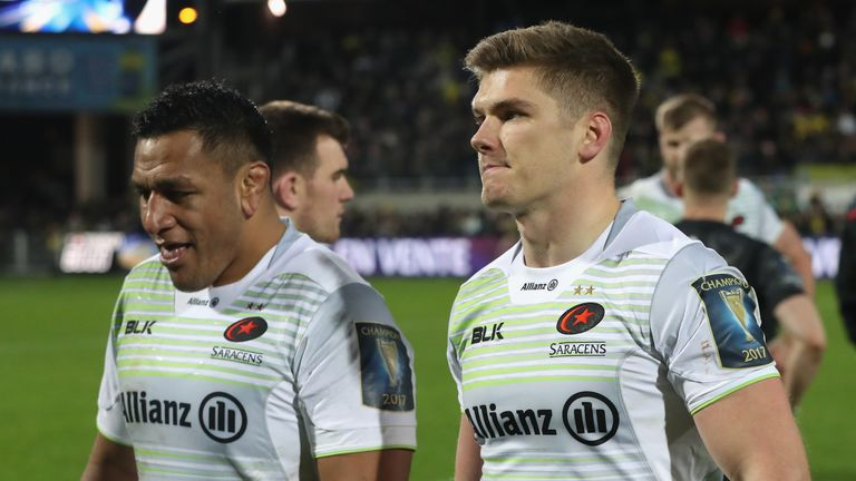 Saracens have now lost seven games in a row in all competitions