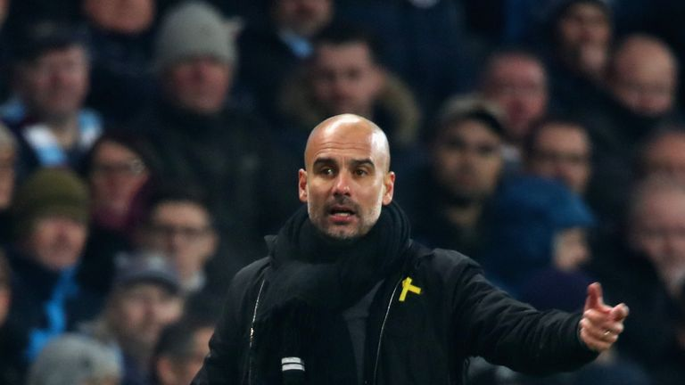 Pep Guardiola set for Manchester City contract talks Skysports-pep-guardiola-manchester-city-football_4185491