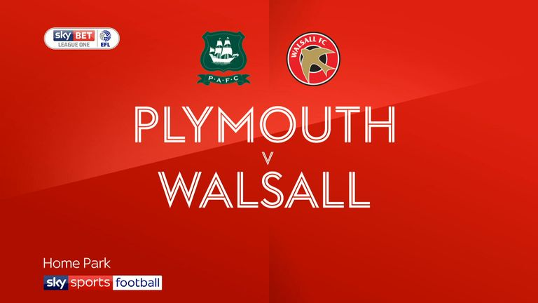 Match Preview Plymouth Vs Walsall 01 Jan 2018