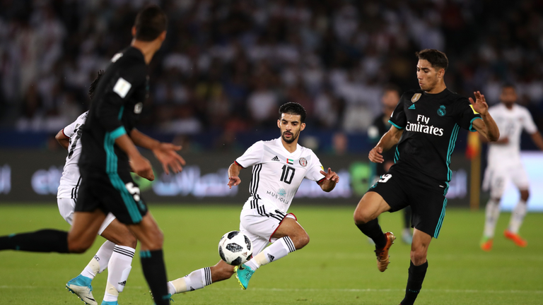 Real Madrid were given a scare in the UAE