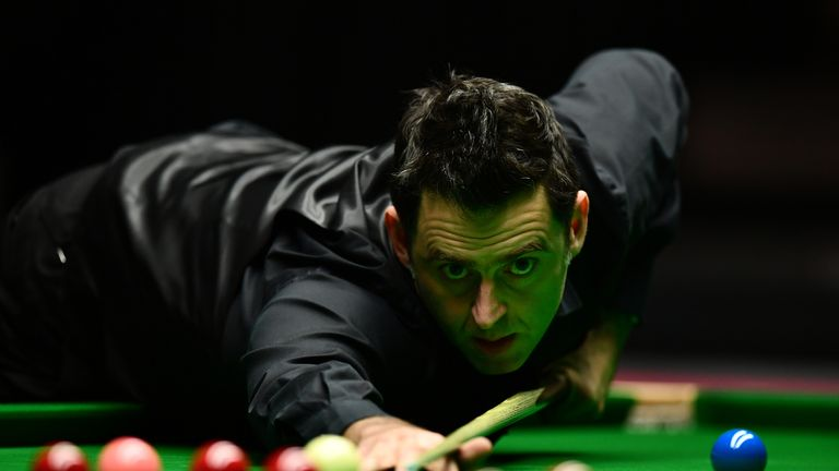 Ronnie O'Sullivan has matched Steve Davis for the most UK Championship title wins