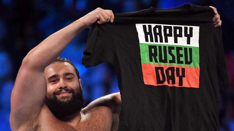 It was a glorious Rusev Day at SmackDown this week