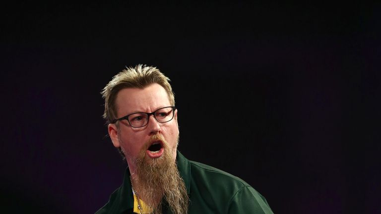 Simon Whitlock was the runner-up in 2012