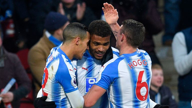 Steve Mounie scored his first goals since the opening day of the Premier League season