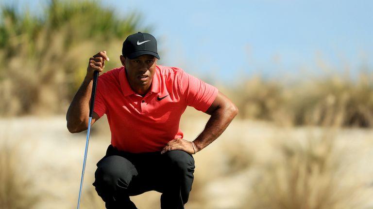 Bogeys slow Woods' comeback