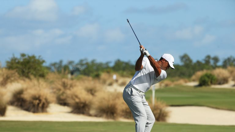 Woods had speed and power back in his swing