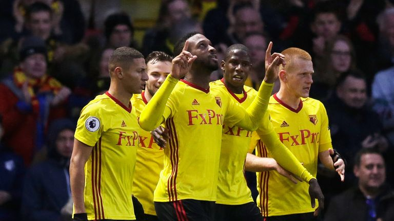 Watford finished 14th in the Premier League