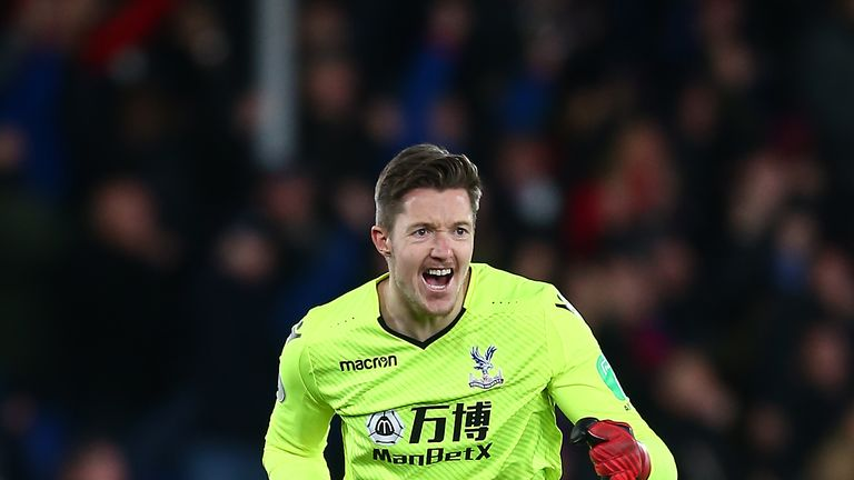 Wayne Hennessey signed for Crystal Palace from Wolves in 2014