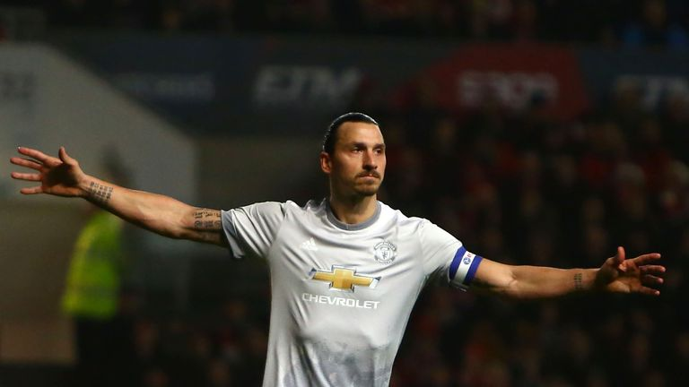 Ibrahimovic has only featured in seven matches for Manchester United this season
