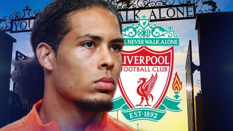 Van Dijk has described his move to Liverpool from Southampton as