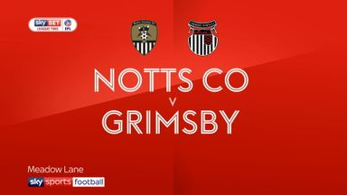 Notts County 0-0 Grimsby