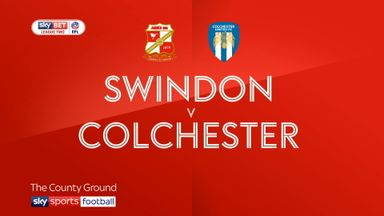 Swindon 2-3 Colchester
