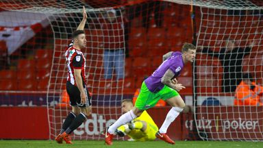 Aden Flint's late winner secured Bristol City a crucial win over fellow promotion chasers Sheffield United
