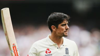 Alastair Cook went 10 innings without passing 50 until his 244* in Melbourne