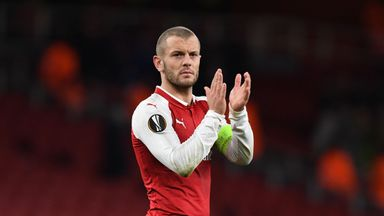 Jack Wilshere has six months remaining on his contract at Arsenal
