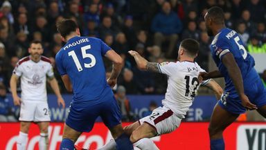 Robbie Brady was injured during a challenge with Harry Maguire