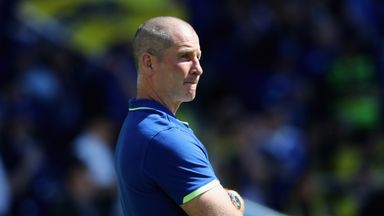 Stuart Lancaster signed a contract extension at Leinster earlier in the year