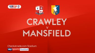 Crawley 2-0 Mansfield