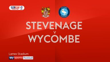 Stevenage 0-0 Wycombe