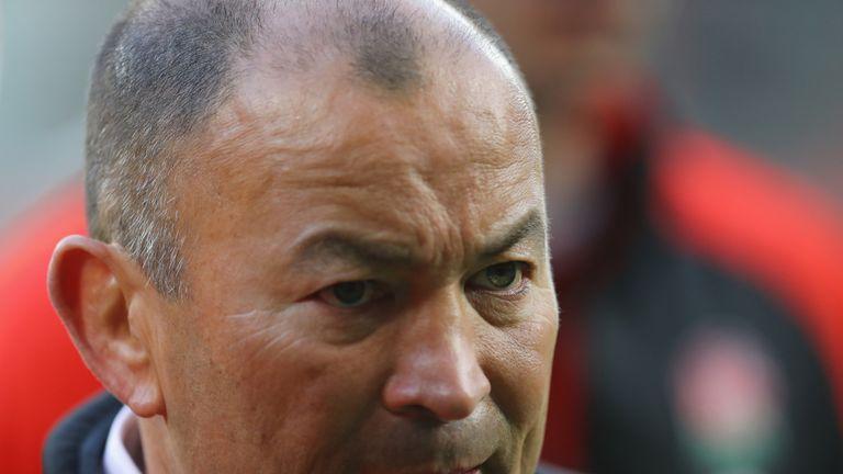 Eddie Jones, head coach of England