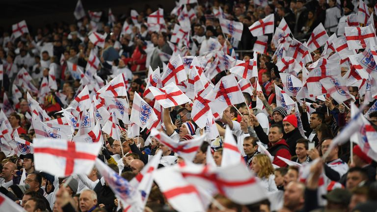 England supporters have requested just 12,500 World Cup tickets in the latest sales period