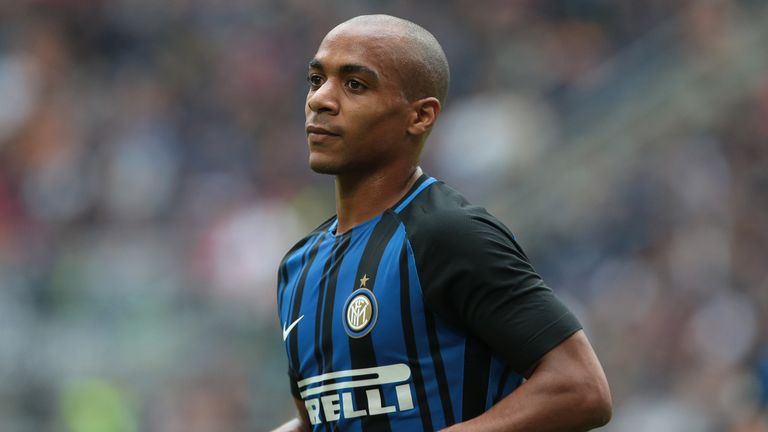 MILAN, ITALY - SEPTEMBER 10:  Joao Mario of FC Internazionale Milano looks on during the Serie A match between FC Internazionale and Spal at Stadio Giusepp