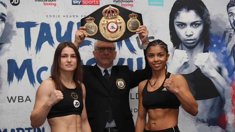 TAYLOR VS McCASKILL PROMOTION.WEIGHIN,.COURTHOUSE HOTEL, SHOREDITCH,.LONDON.PIC