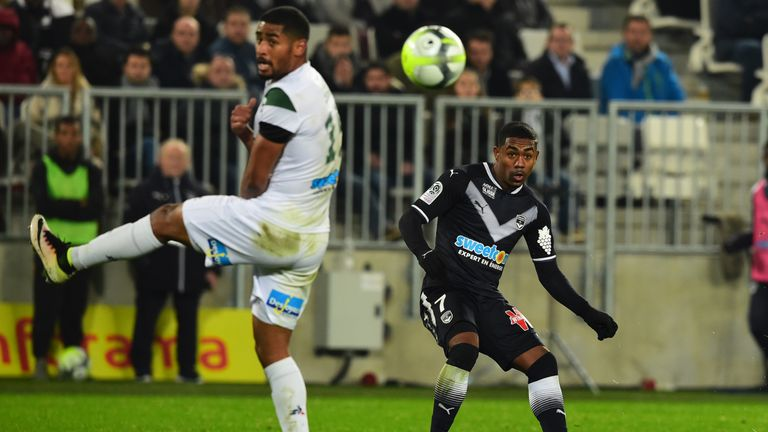 Bordeaux's Brazilian forward Malcom