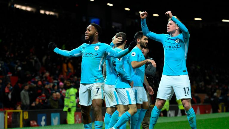 Manchester City's post-match celebrations angered Jose Mourinho, according to Sky sources