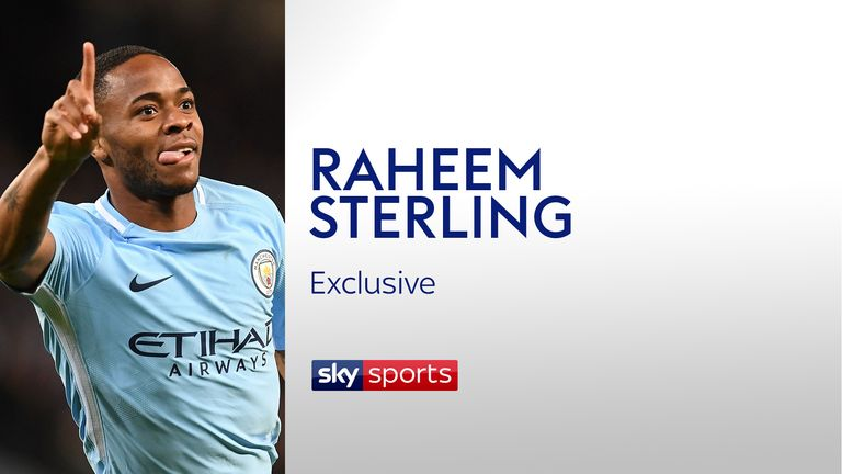 Raheem Sterling Manchester City exclusive image Sky Sports