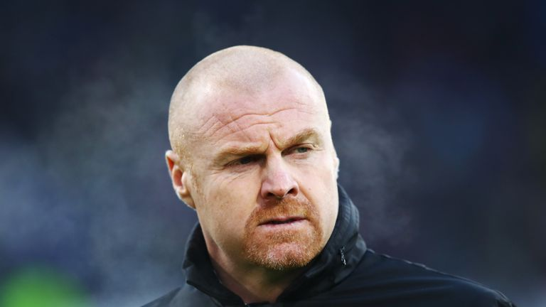 BURNLEY, ENGLAND - DECEMBER 09:  Sean Dyche, Manager of Burnley looks on prior to the Premier League match between Burnley and Watford at Turf Moor on Dece