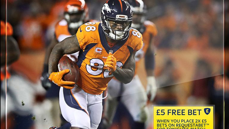 Sky Bet's free-bet offer in the NFL for December 14