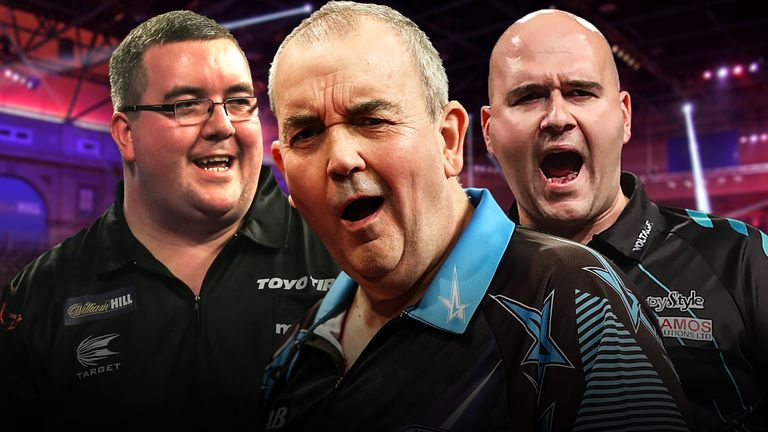 World Darts Championships - Stephen Bunting, Phil Taylor, Rob Cross