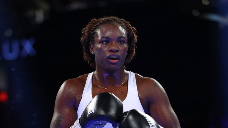 Claressa Shields Dominates To Defend Titles - Reacts To Her Latest Win