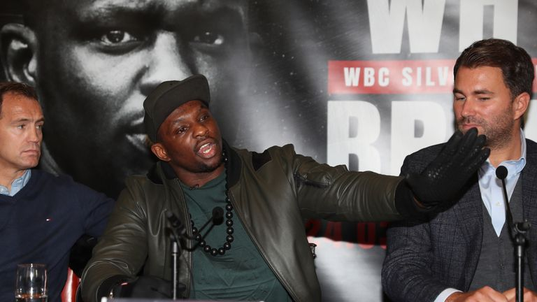 Dillian Whyte will appeal 'outrageous' WBC rule, says Eddie Hearn