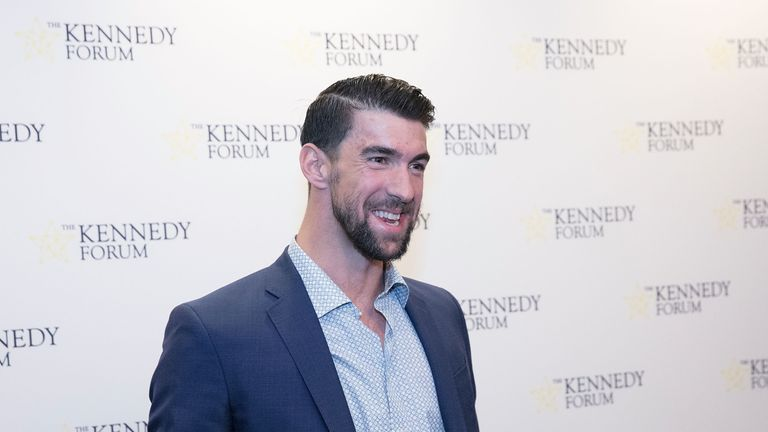 Michael Phelps was a speaker at The Kennedy Forum in Chicago this week, when he talked about mental health